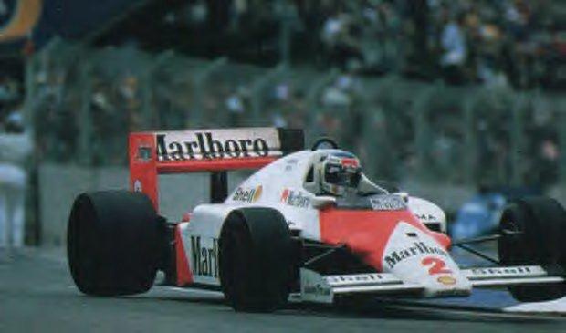 Prost, Bicampeão do mundo quando todos apostavam nos pilotos da Williams