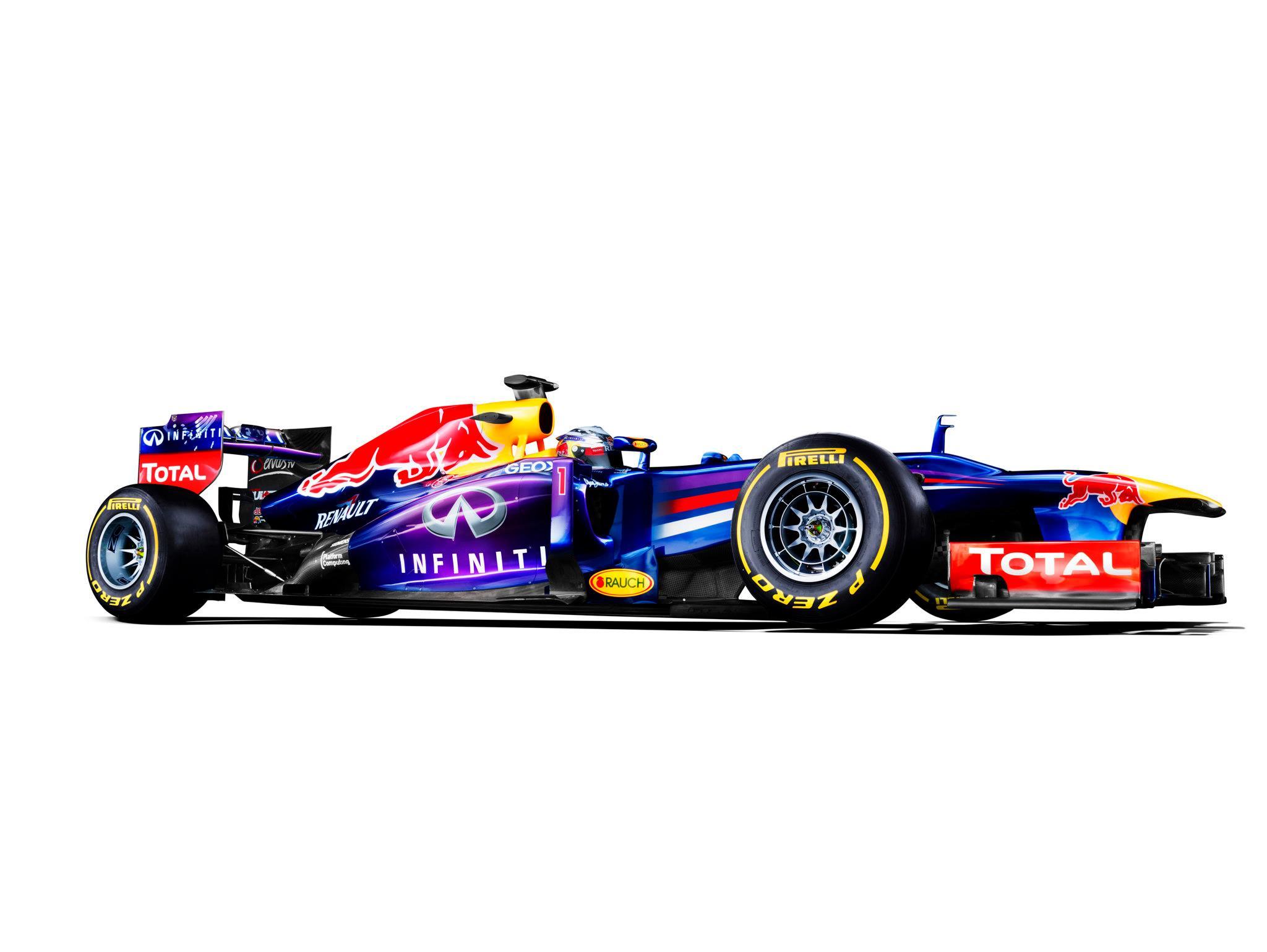 O Carro que ganhou o 4ºtítulo mundial de Formula 1 em 2013