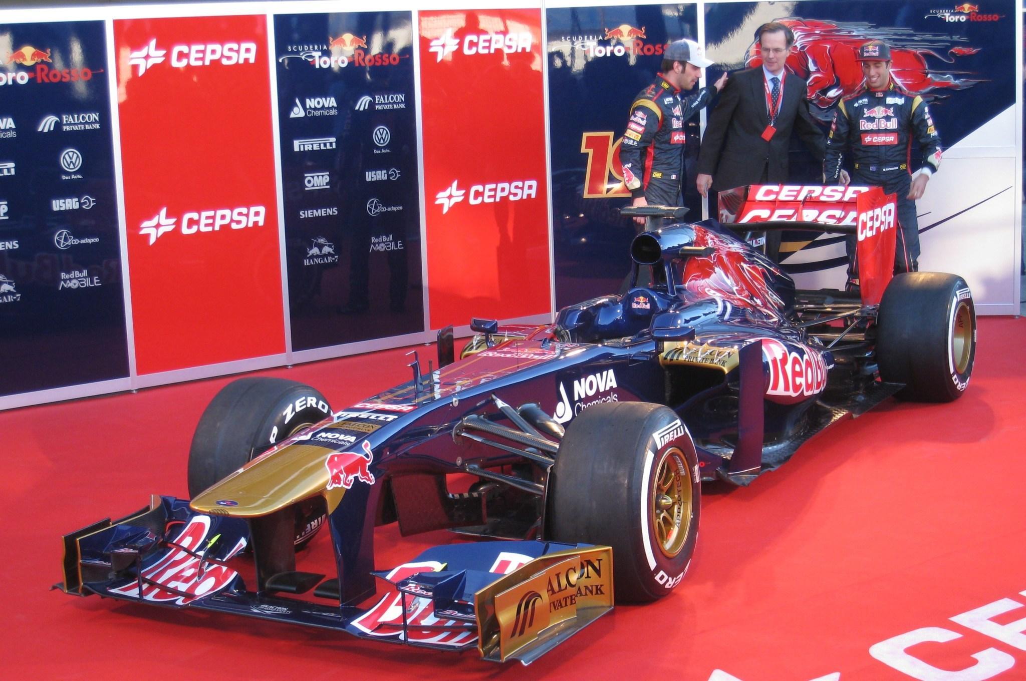 Toro Rosso 2013 - Um carro Decente