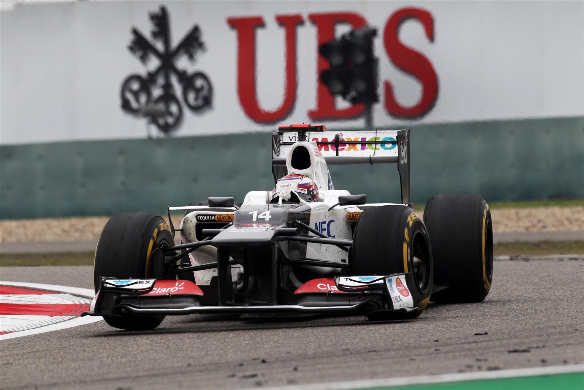 Kobayashi volta a Formula 1 para a alegria dos seus fãns!
