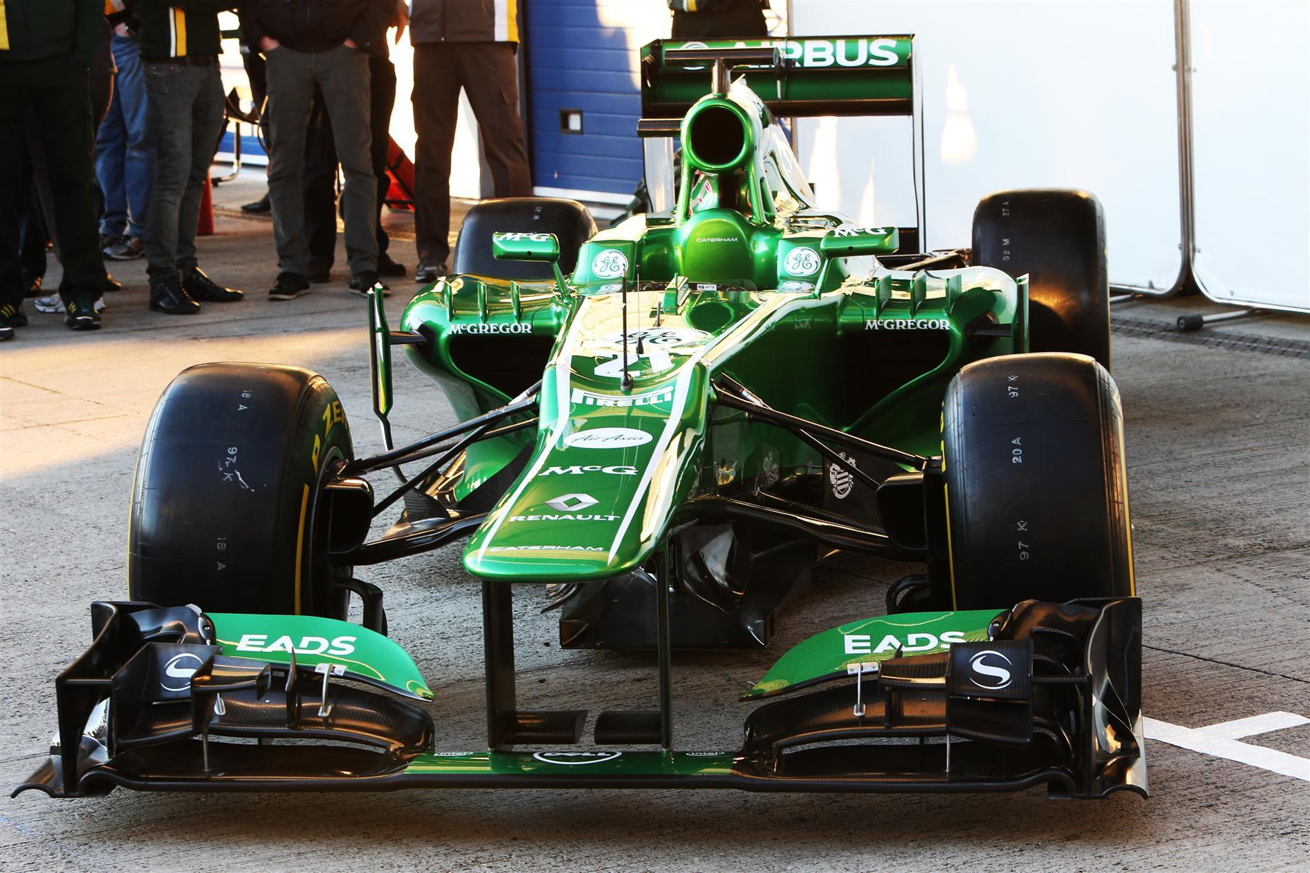 O Carro da Caterham de 2013