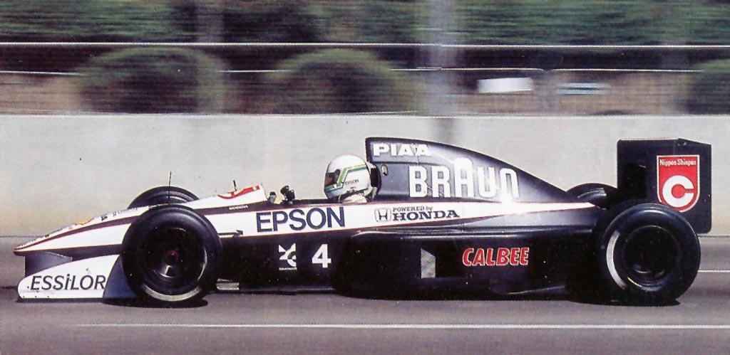 Tyrrell tem bons resultados em Phoenix com os Honda v10 Campeões na Mclaren em 1990