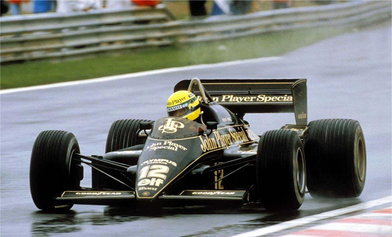 1ª de 41 vitórias do maior piloto da História do automobilismo Mundial.