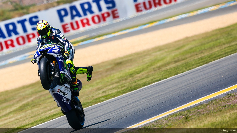 Valentino Rossi fez bonito - Foto: MotoGP