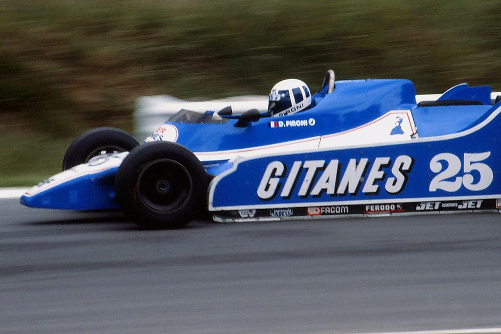 Pironi andou demais em Brands Hatch, mas morreu na praia por causa de 2 pneus furados.