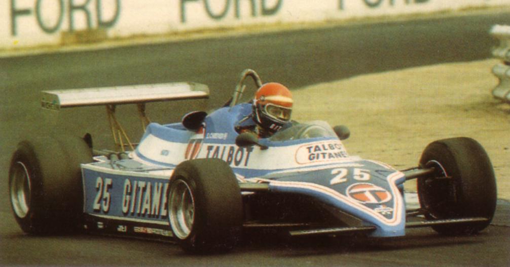 Cheever conquistou 3 pódios na temporada de 1982