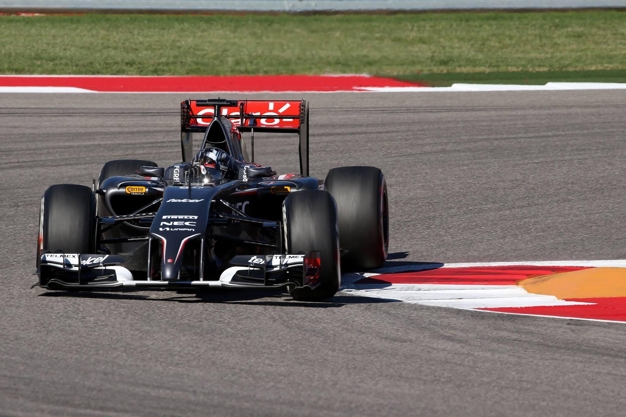 Sutil fazendo o melhor grid da Sauber nessa temporada.
