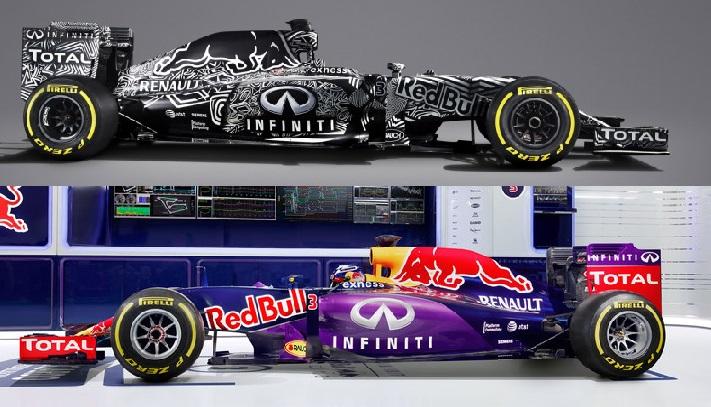 Ah se a Red Bull colocasse o carro em preto e branco por uma corrida que seja!
