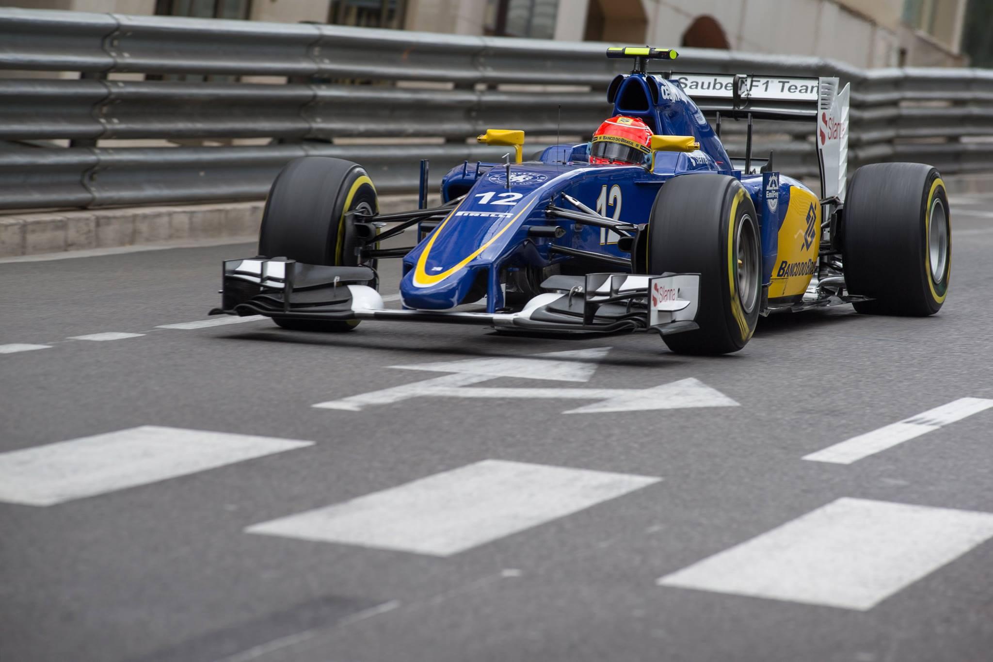 Nasr conseguiu levar a Sauber a 9ªposição num final de semana difícil.
