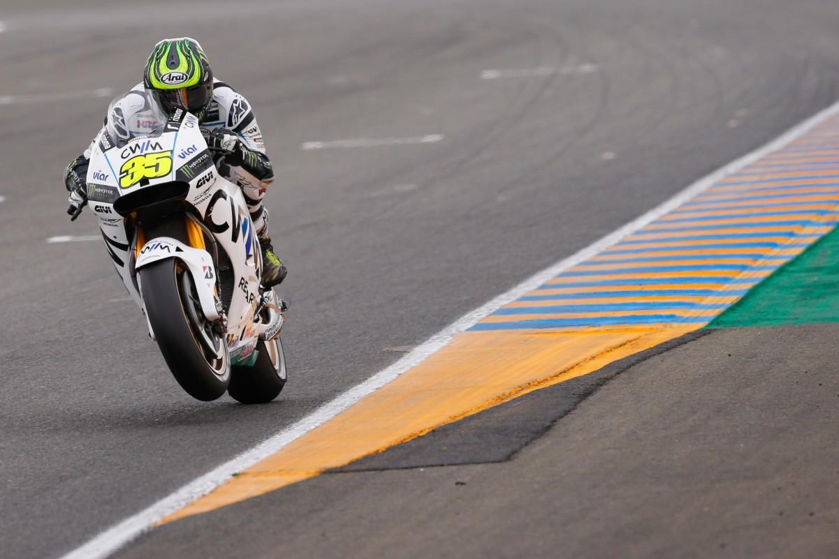 Outro belo treino de Crutchlow em Le Mans