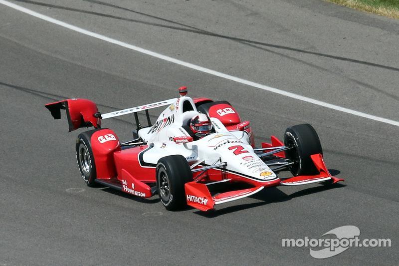 Os Danos do carro de Montoya no começo da corrida