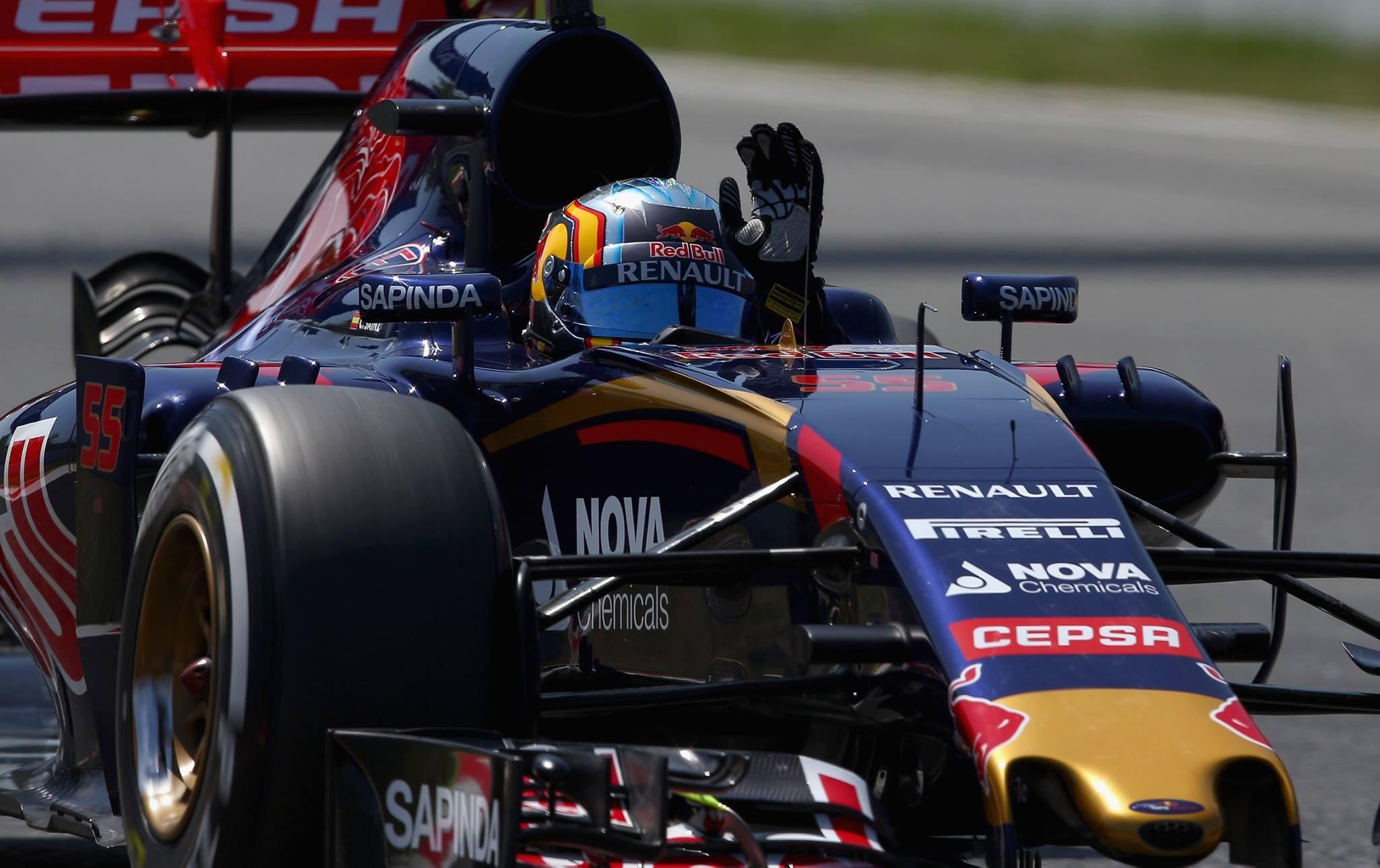 O jovem piloto da Toro Rosso foi o melhor dos pilotos espanhois