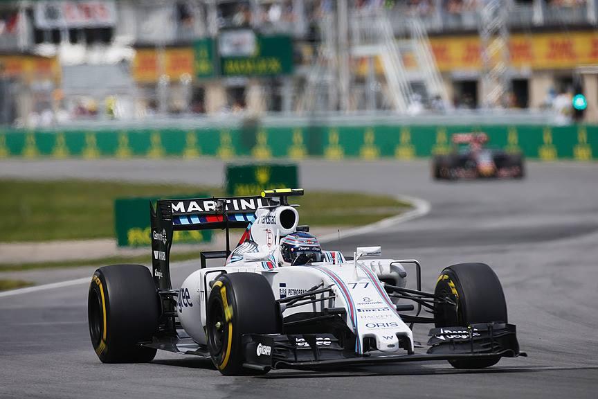 Bottas Tirou o 3ºlugar de Raikkonen e levou a Williams para o pódio em Montreal.