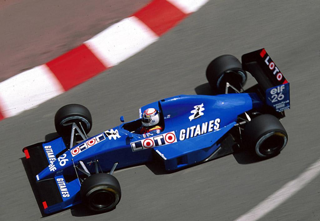 Alliot poderia marcar pontos pela Ligier em 1990 o câmbio não quebrasse.