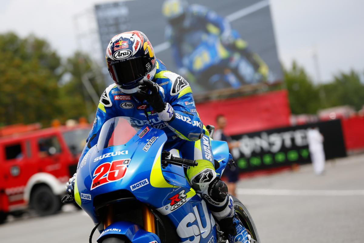 Viñales em seu melhor Grid na MotoGP em sua casa na Catalunha