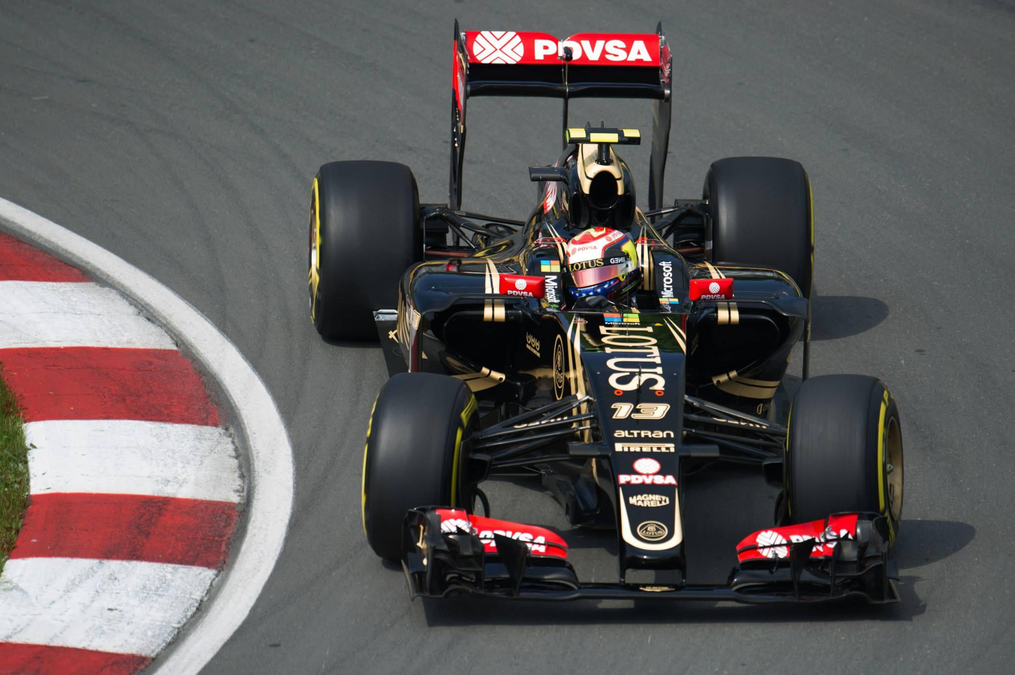 Maldonado andou rápido na Sexta-feira em Montreal