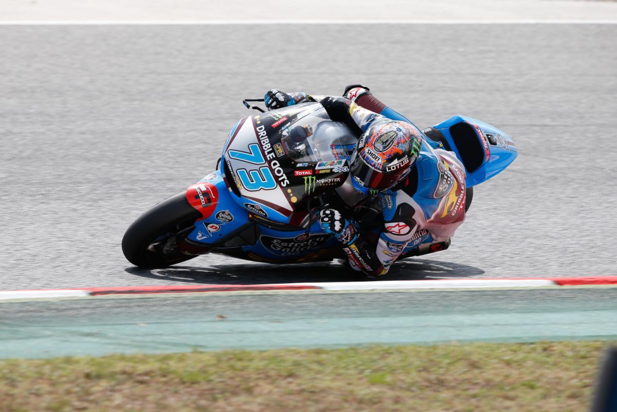 Marquez recuperou-se na corrida levando a moto da Estrella Galícia Marc VDS para um honroso 11ºlugar