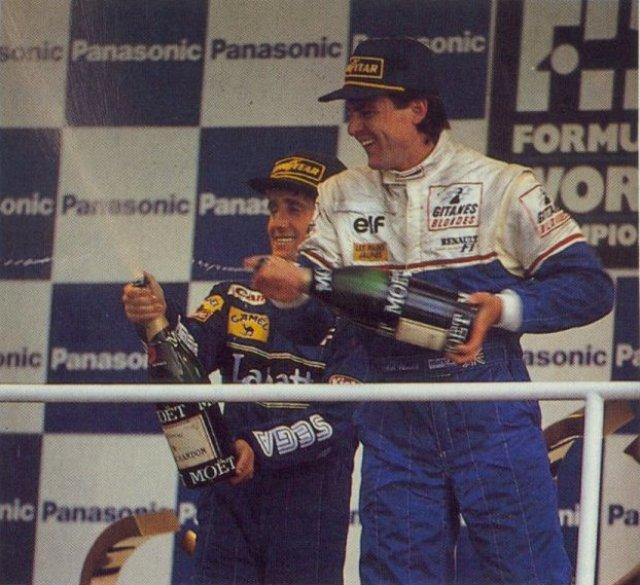Blundell comemora o primeiro pódio da Ligier desde do GP dos Estados Unidos de 1986