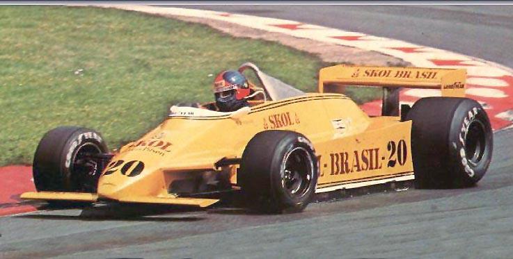 Estreia do F8 da Fittipaldi no circuito inglês