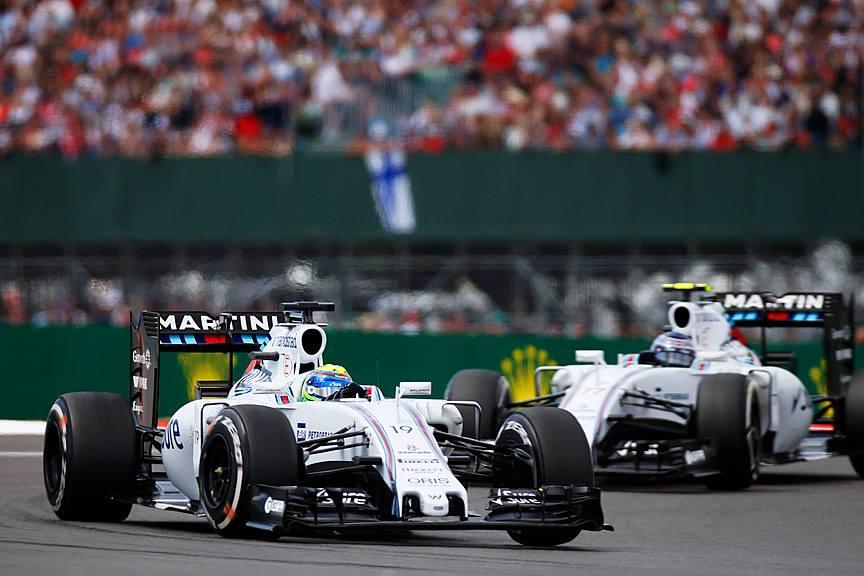 Massa e Bottas lideraram a primeira parte da prova