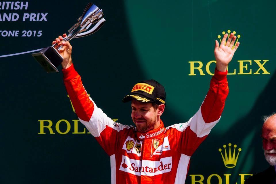 Vettel usou da estratégia para levar o pódio hoje