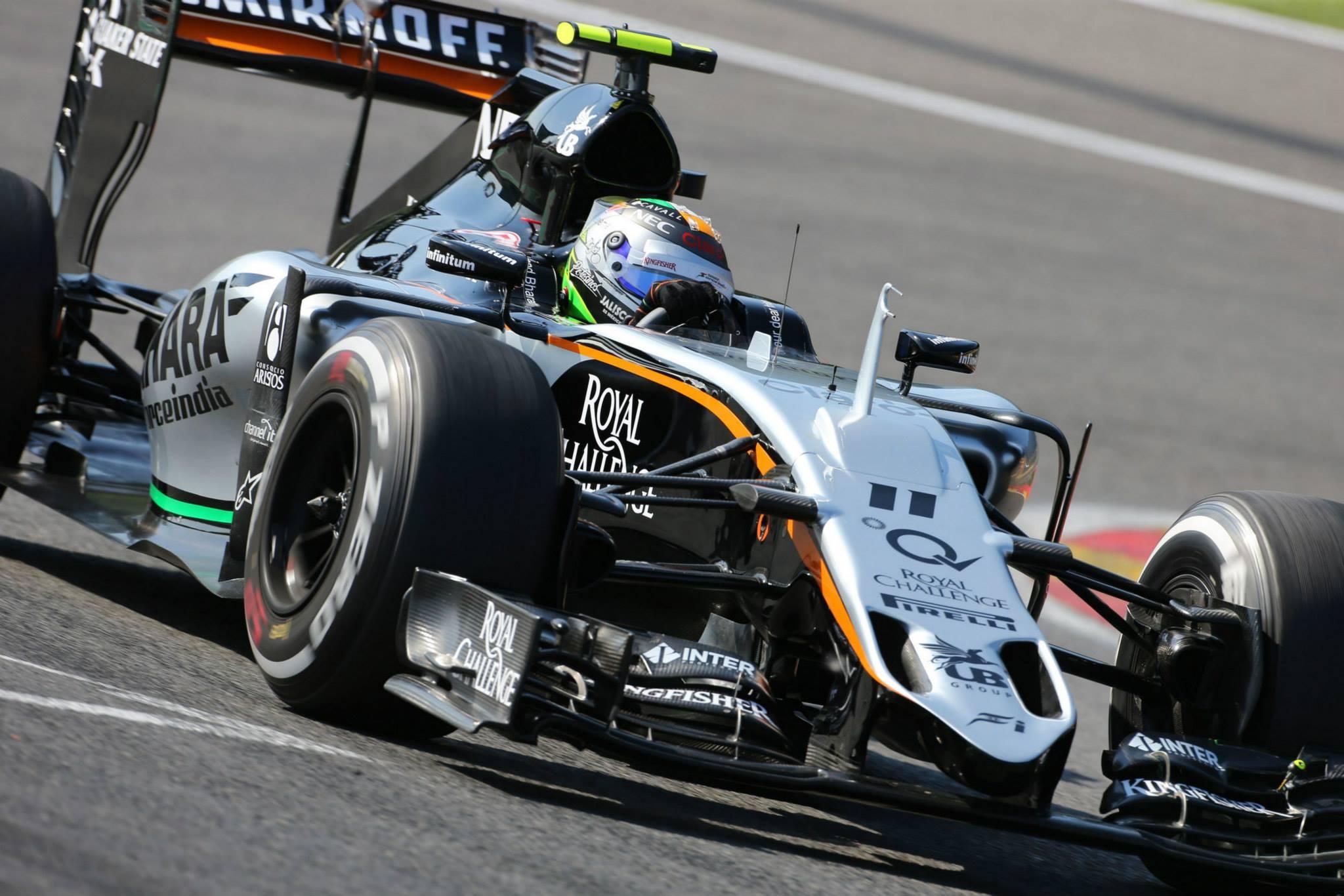 Perez com o melhor Grid da Force India nessa temporada