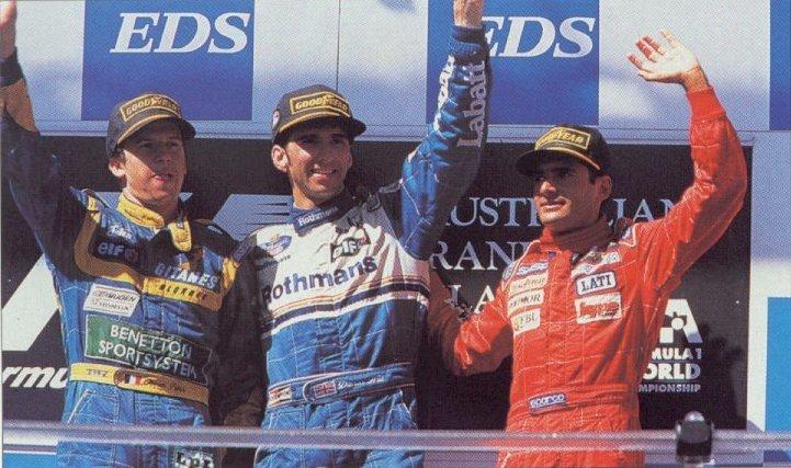 Final feliz para a Ligier em 1995 com o 2ºlugar de Panis