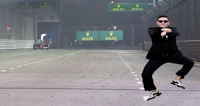 Um show do Psy com a Famosa dança do Cavalo que é mais conhecida como Gangnam Style!