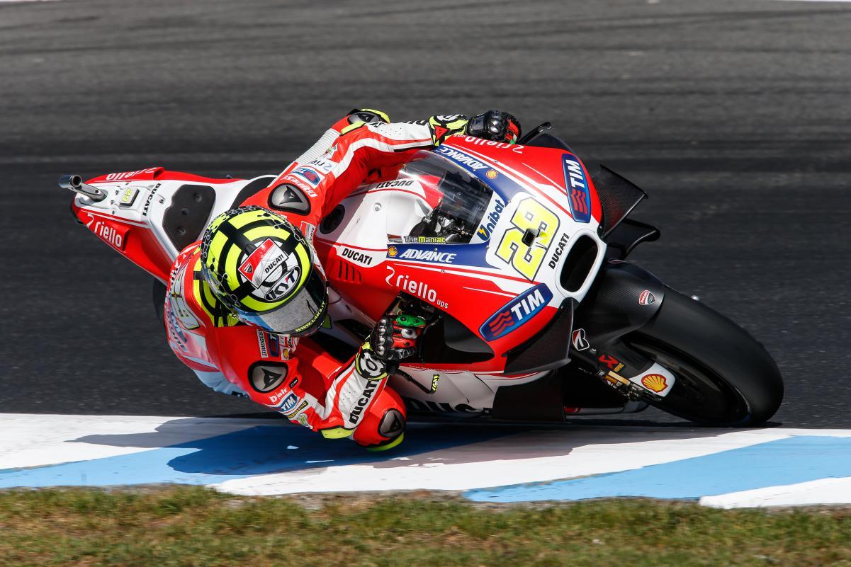 Iannone colocou Lorenzo no Bolson no Treino que valia e larga em 2º