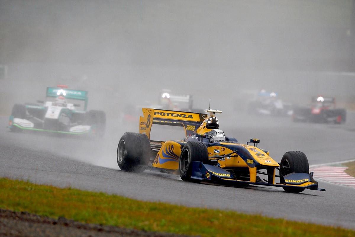 Uma das melhores corridas da carreira de Kamui Kobayashi