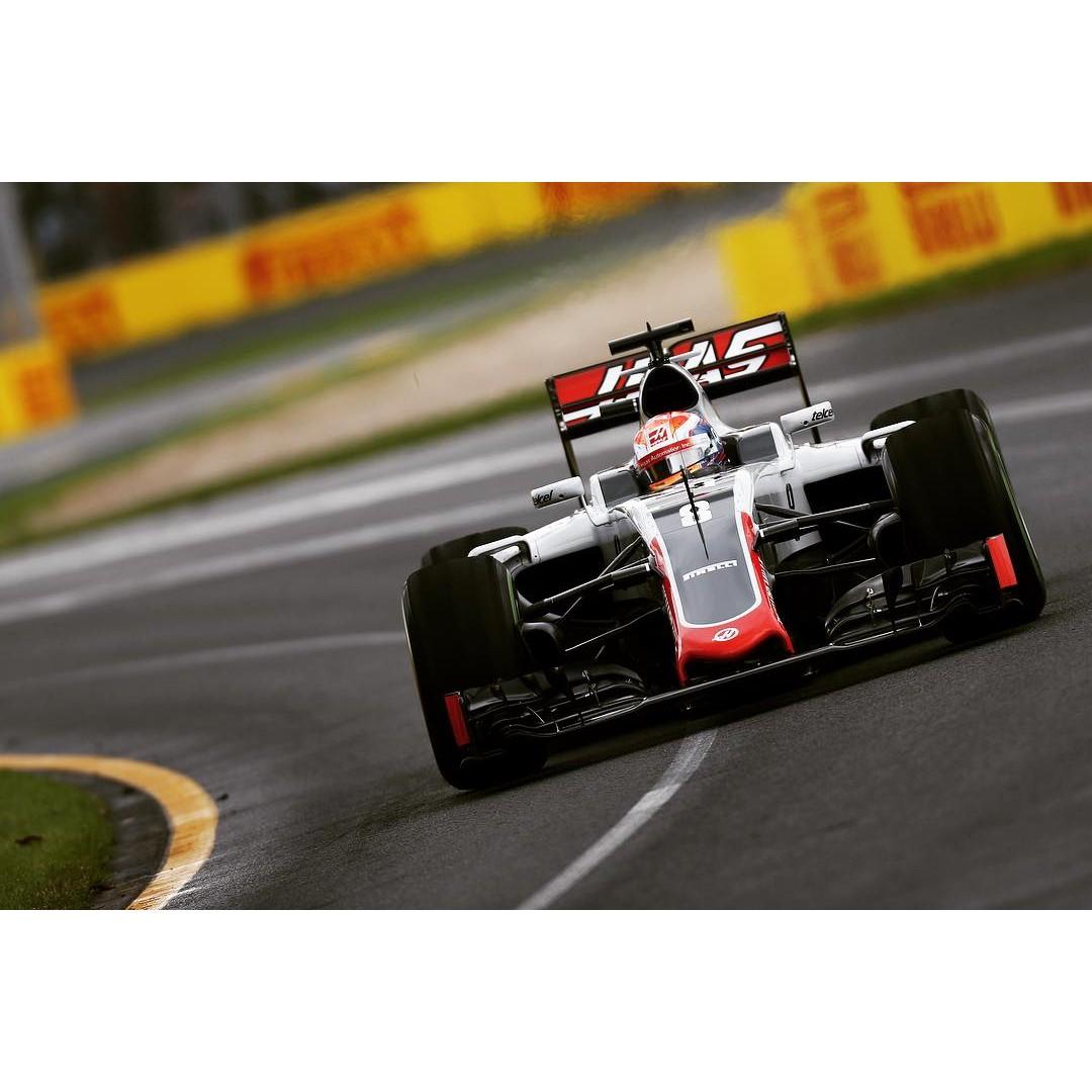 Grosjean foi o grande destaque da Corrida em Albert Park com a Equipe Haas