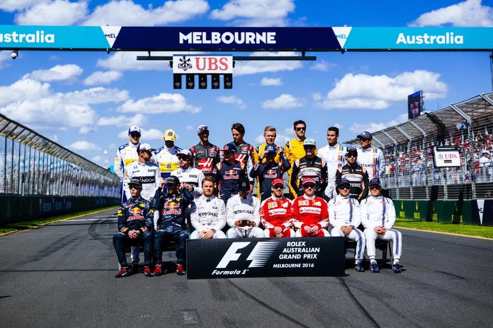 Formula 1 - Classe de 2016