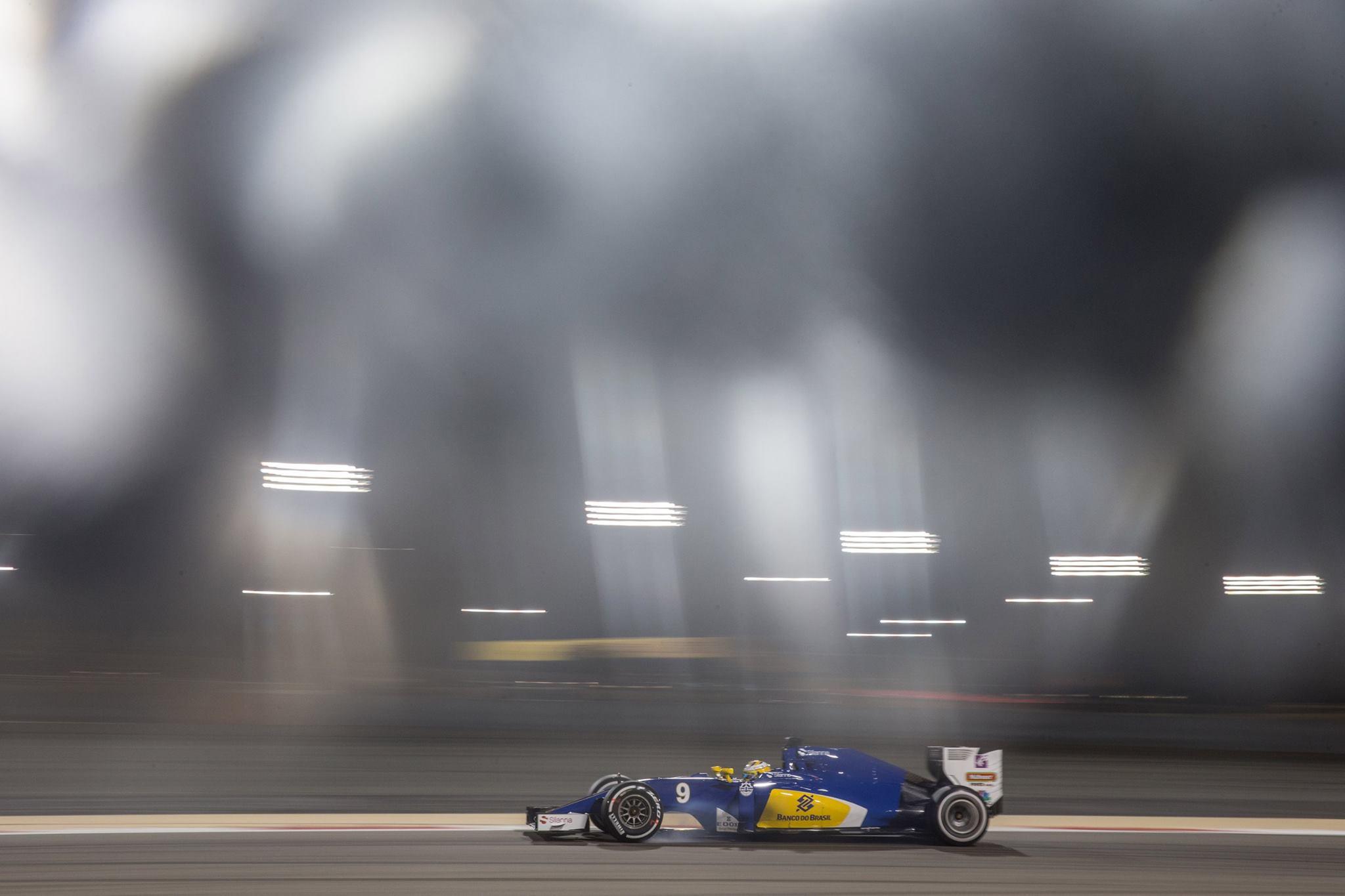 Um final de Semana para esquecer para a Sauber