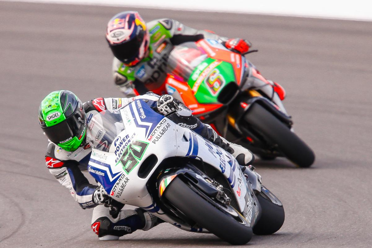 Laverty e Bradl com belosresultados ARG2016
