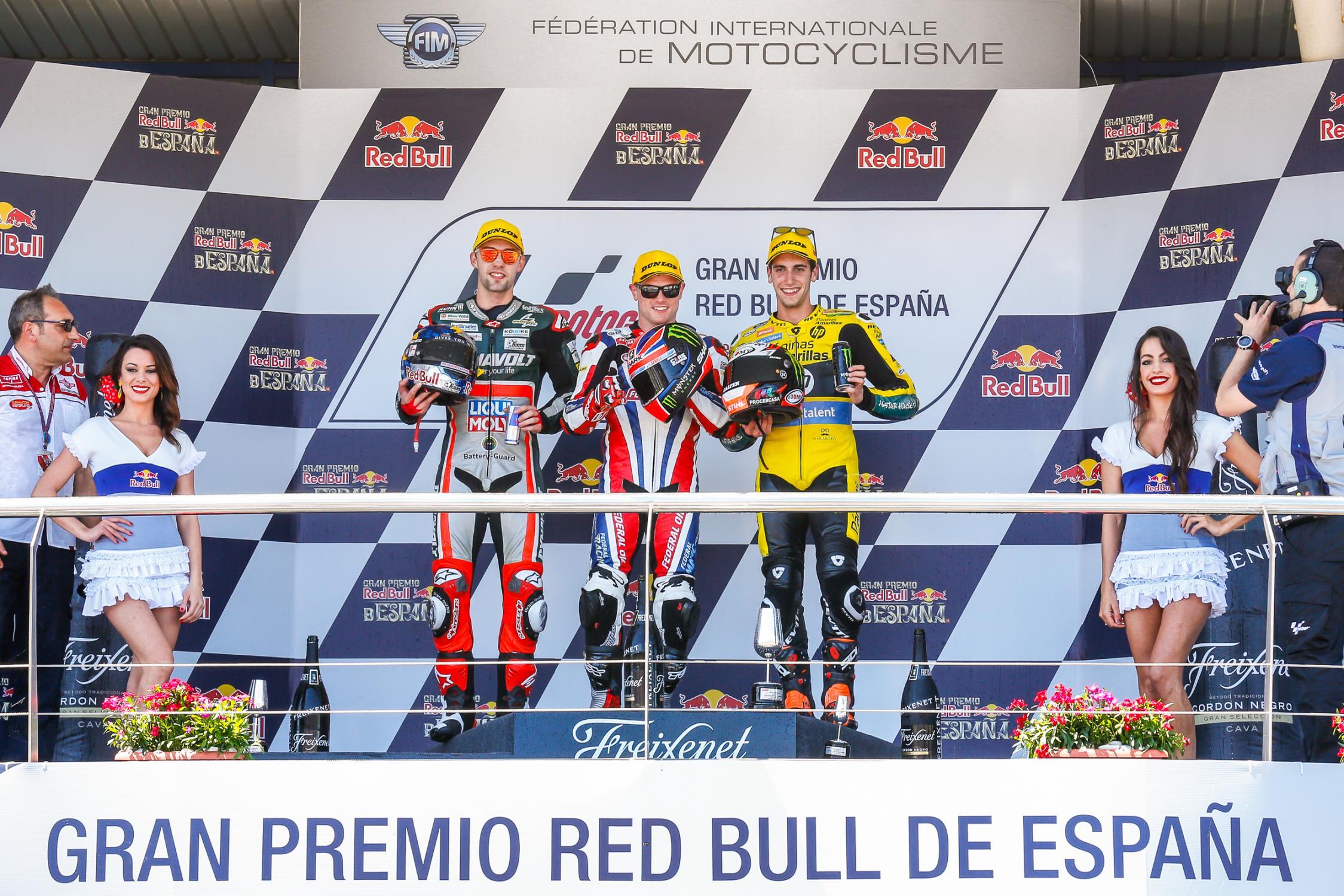 Pódio de Jerez na Moto 2