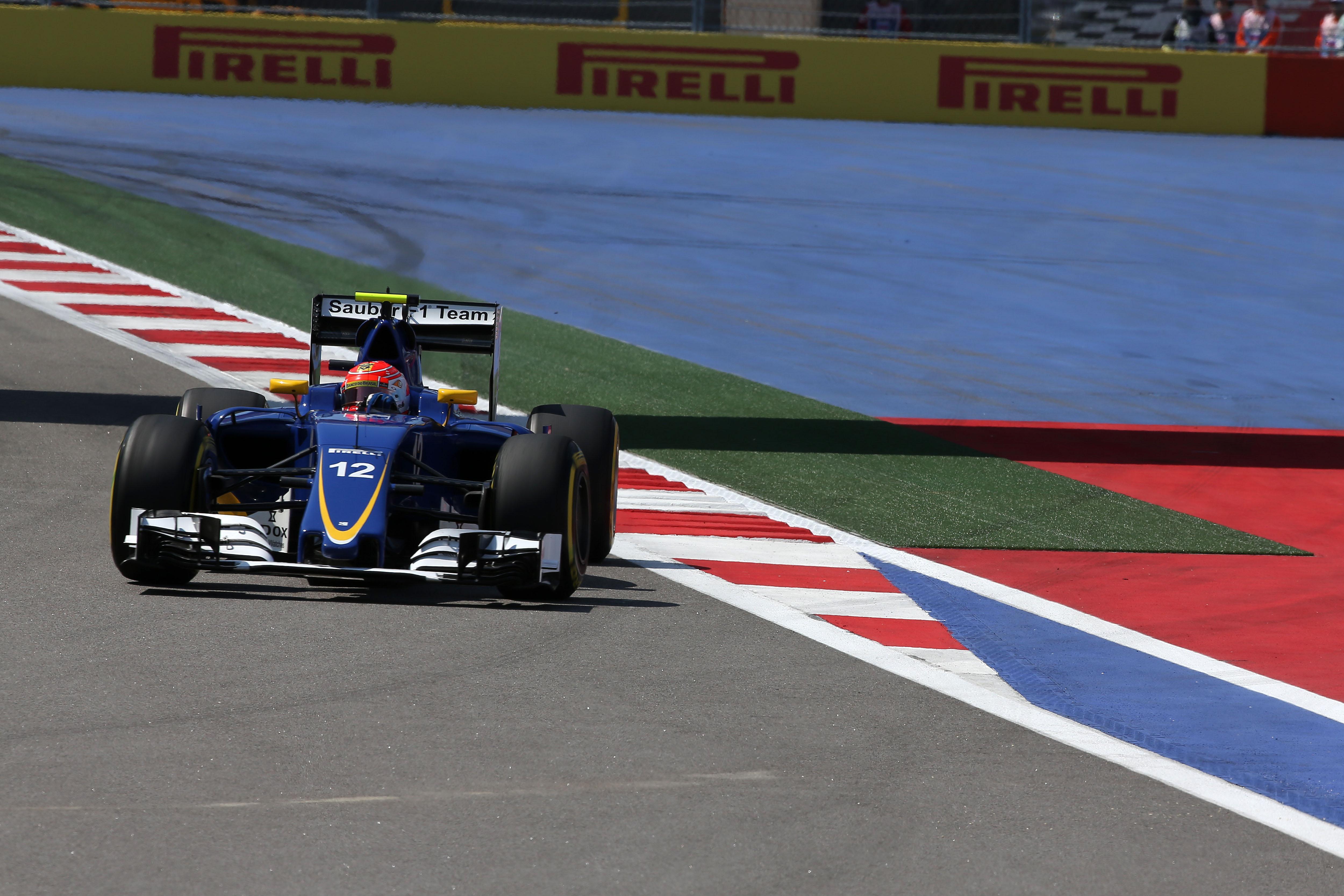 Felipe Nasr (BRA) Sauber F1 Team.  Sochi Autodrom.