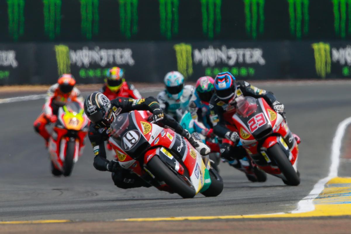 Alex Pons terminou uma corrida na Moto 2 em 7ºlugar