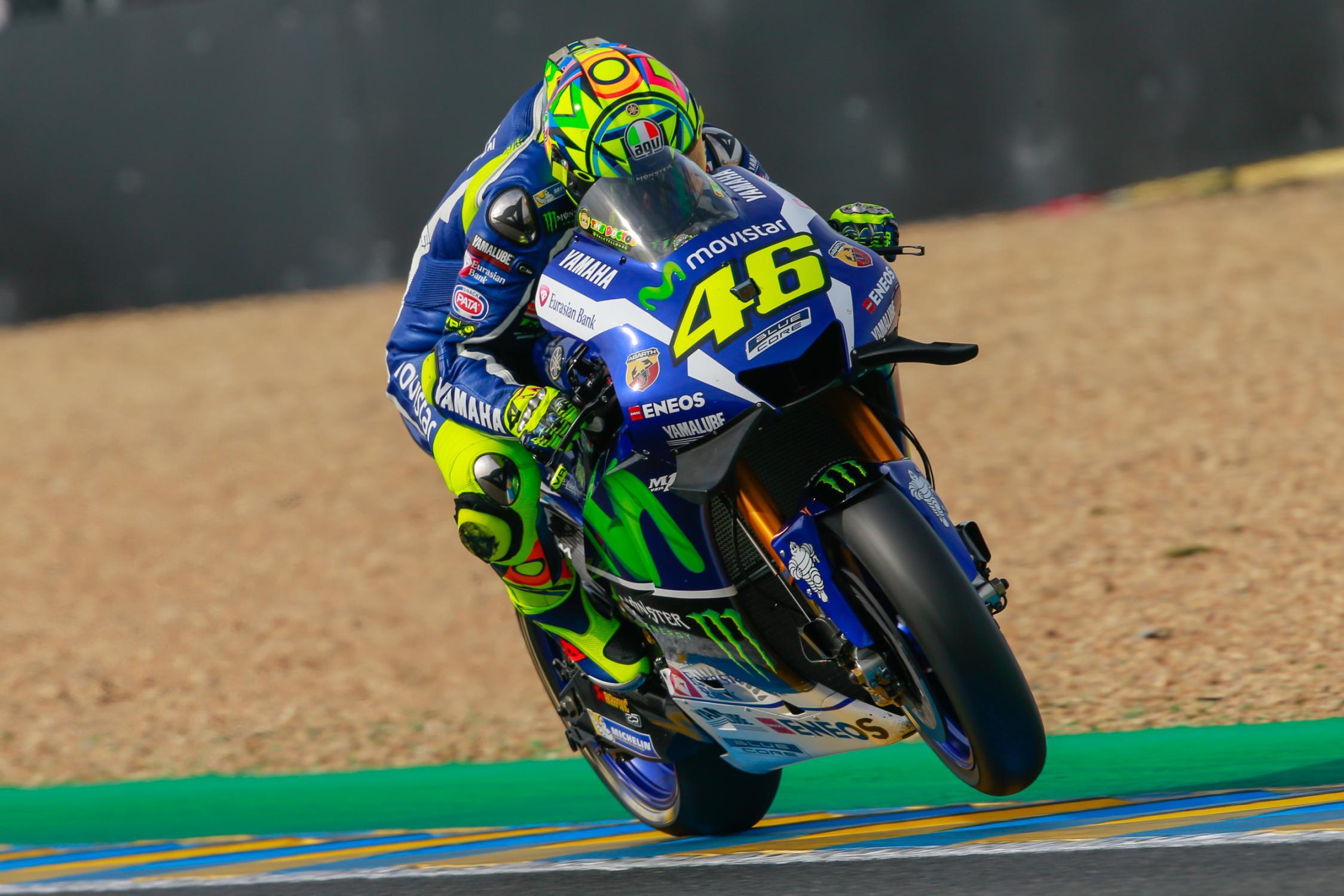 Rossi fez bela corrida completando a Dobradinha