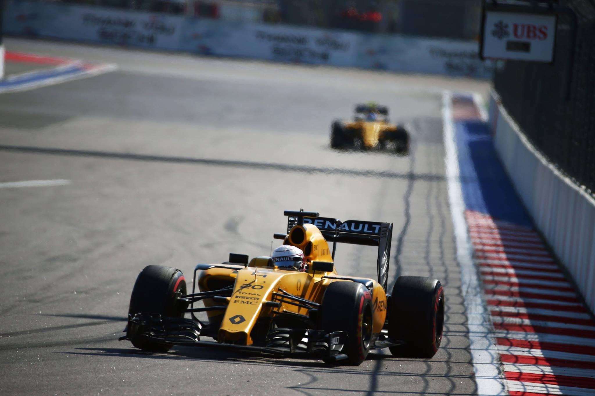 Magnussen do 17ºlugar no Grid de largada levou o seu Renault ao 7ºlugar.