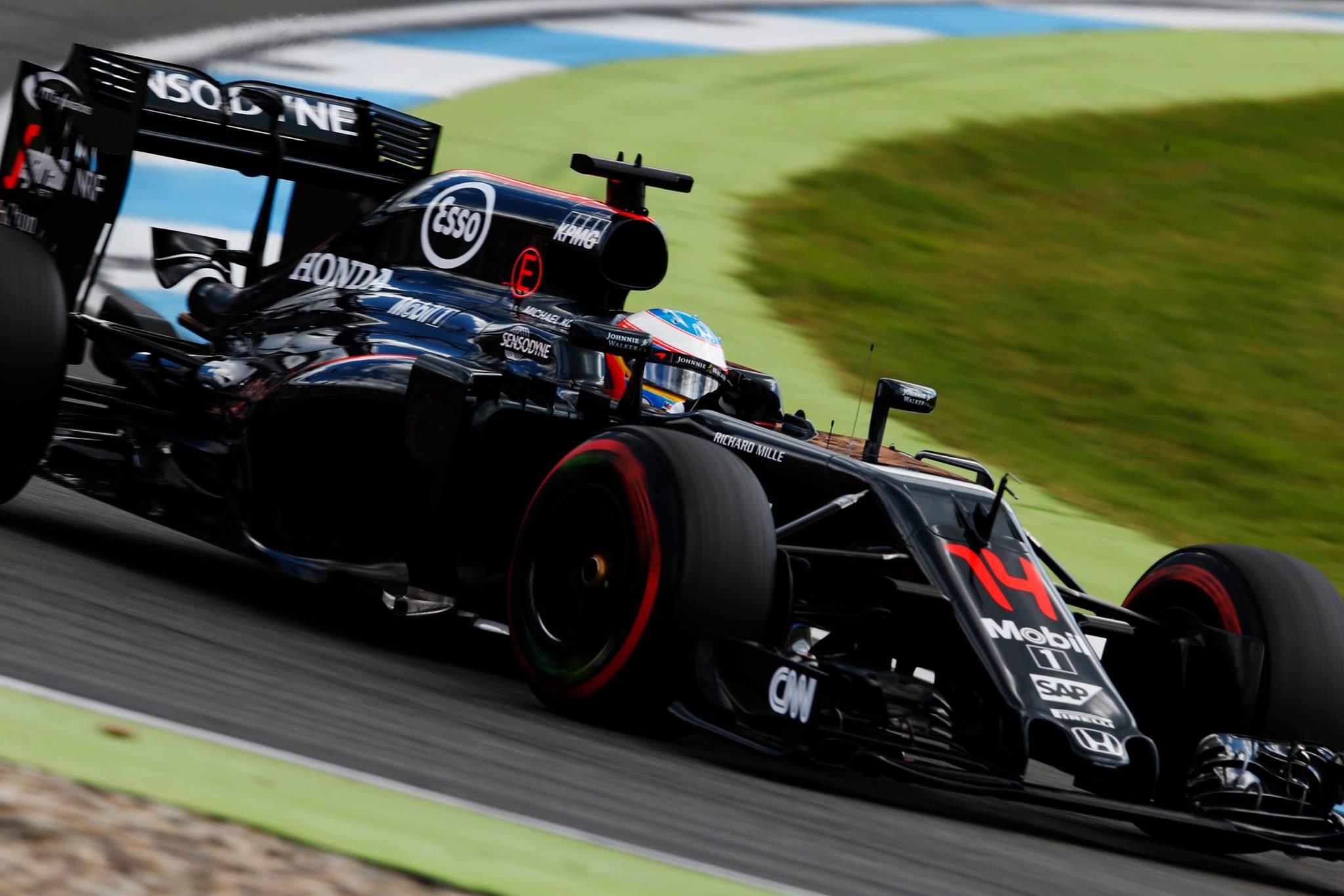 Alonso com seus 35 anos larga em 13º com a Mclaren-Honda