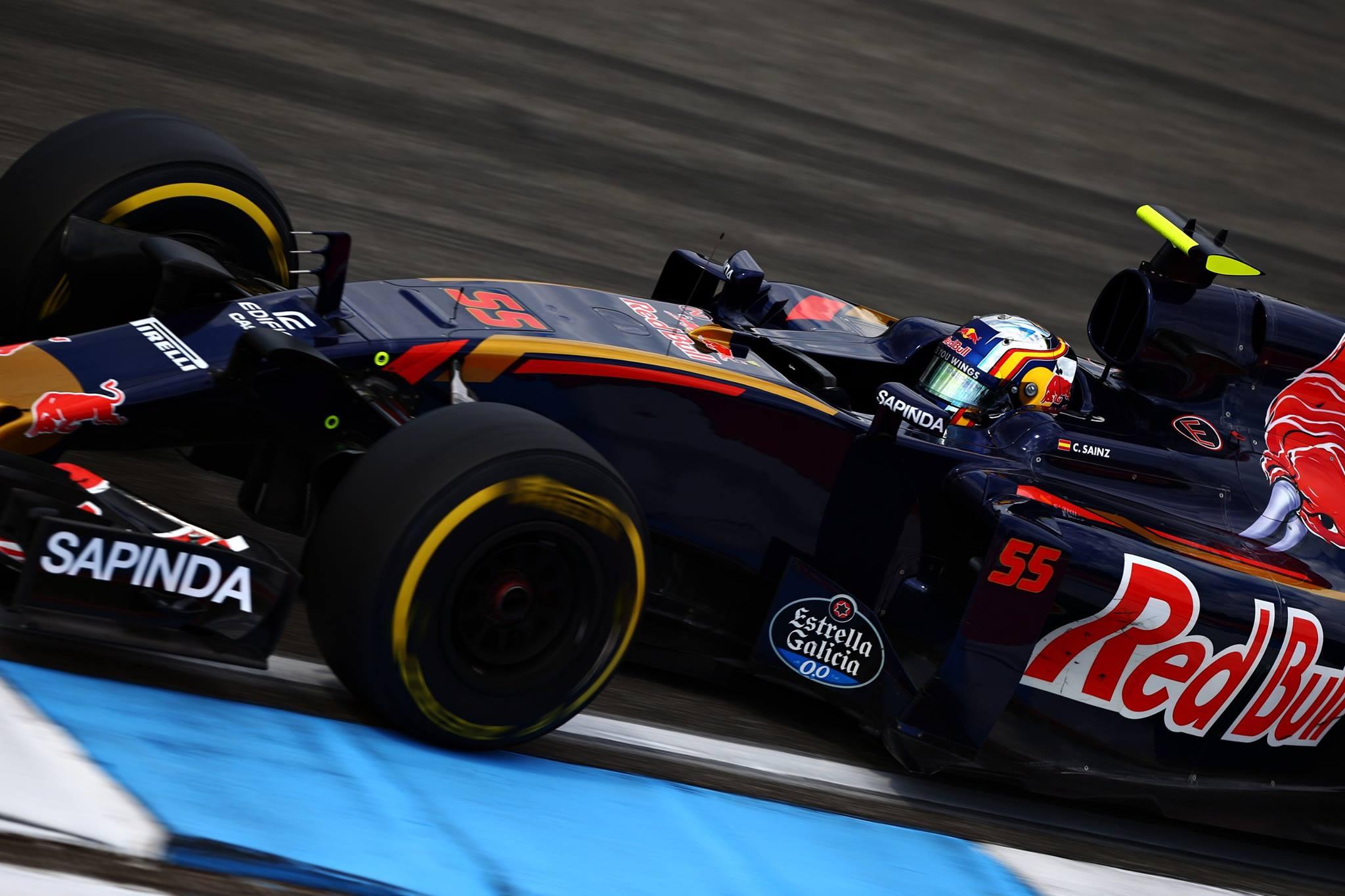 Dia bem ruim para a Toro Rosso
