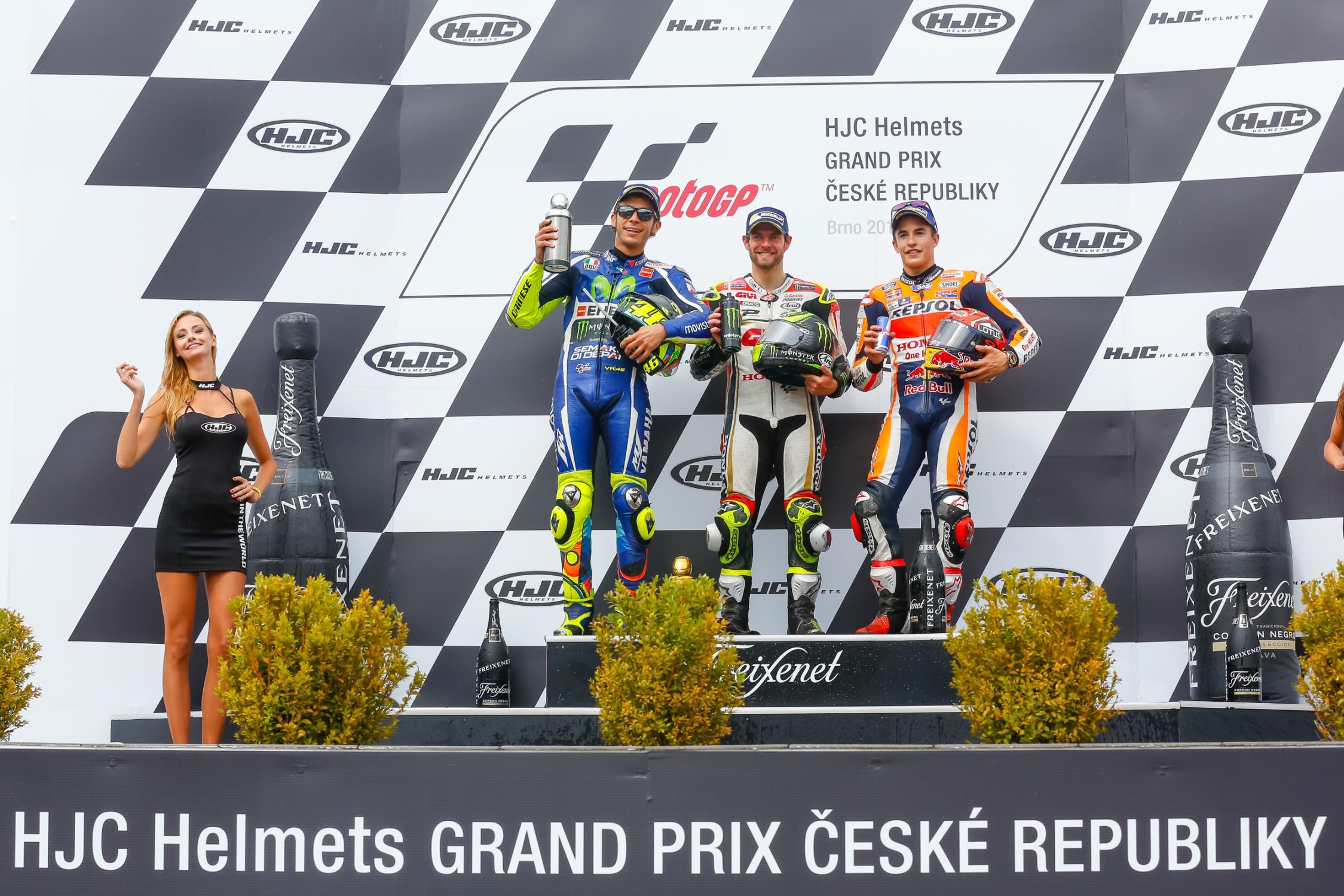 podio em Brno