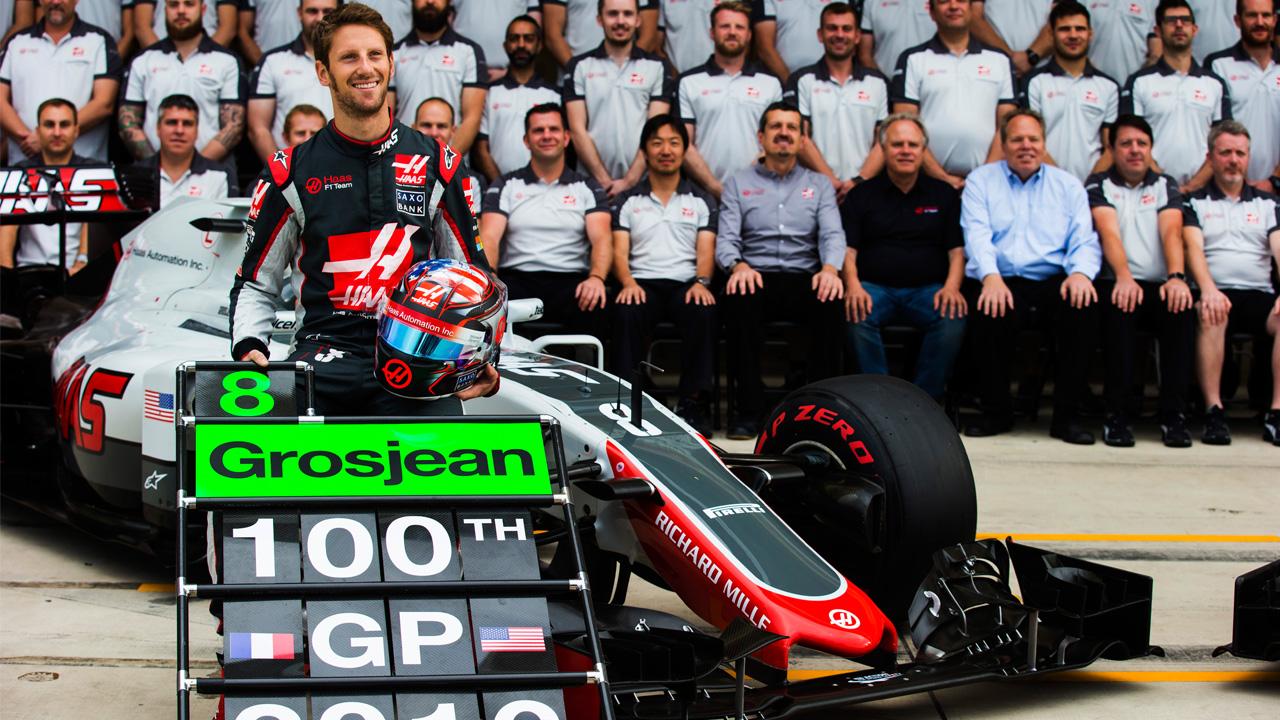 Ponto merecido para Grosjean e a Haas em Austin