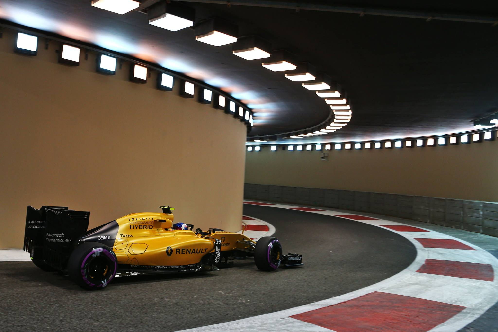 Palmer passando para o Q2