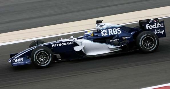 A primeira corrida de Rosberg - GP do Bahrein de 2006 pela Williams